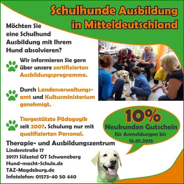 Schulhund Ausbildung in Magdeburg