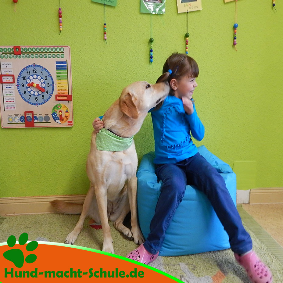 Schulhund Kyra in Magdeburg